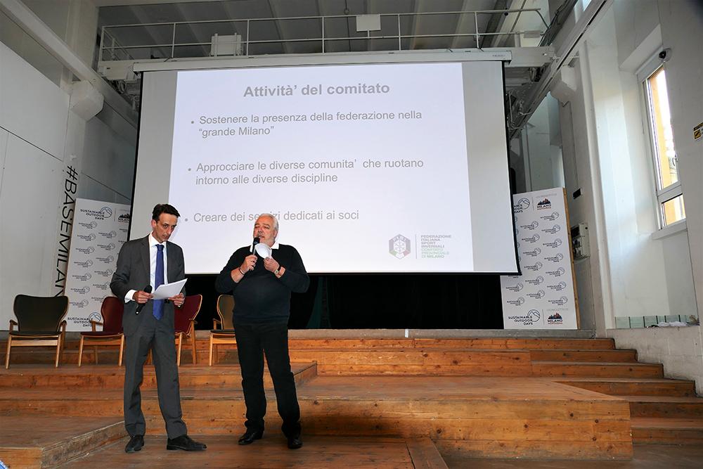 Il presidente Castiglioni illustra gli obiettivi del comitato per la stagione