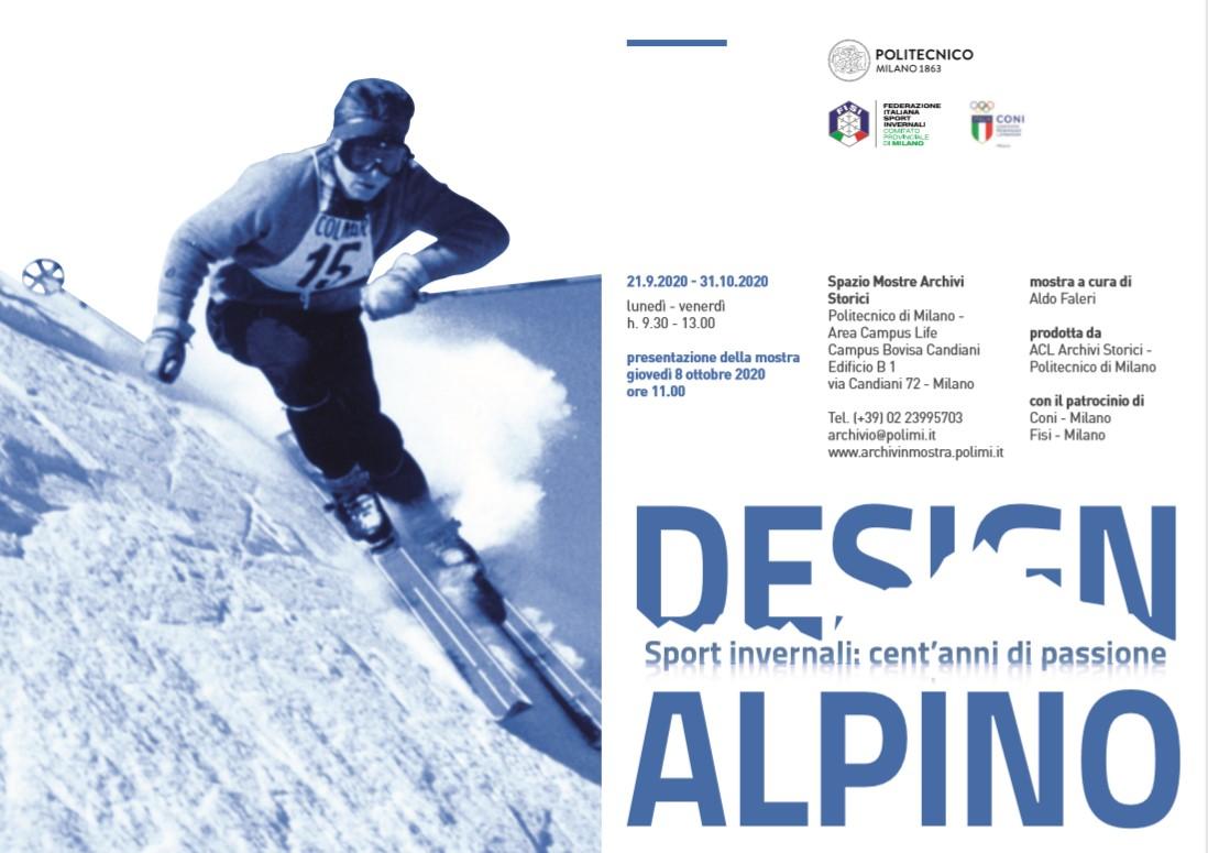 Invito Mostra Design Alpino